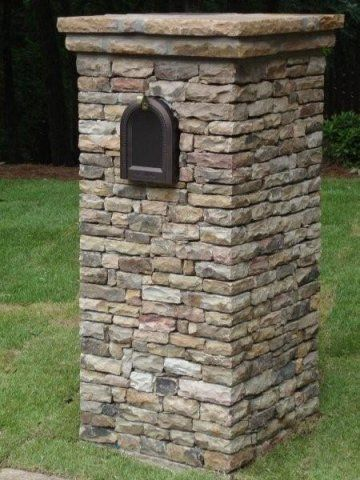 brick mailbox designs | ... Mailboxes in these locations (contact the office for location