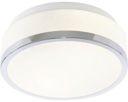 Plafoniera Top Light Flush E27 Max 2x60w Pentru Baie Ip44 Argintiu Alb Interior Decorating Decor Lighting