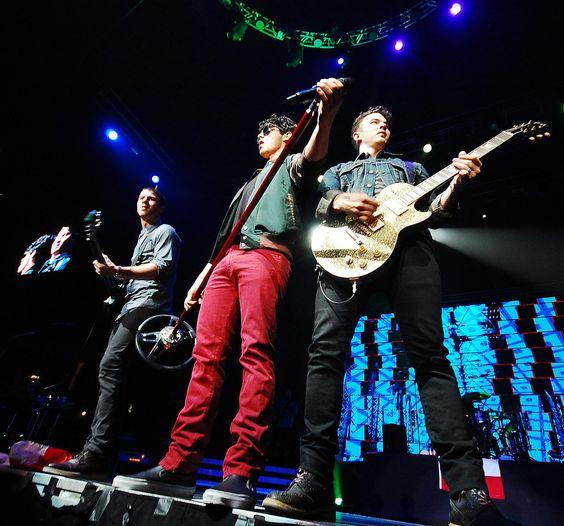 @Joe Jonas @Abby Duffy and @Nick Jonas in Chile 2013