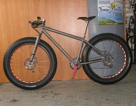 Rapid Titanium Fat Bike Frame Fat Bikes Pinterest