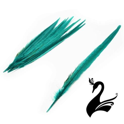 Craft Millinery Fly Fishing Feather Ostrich Burnt Plume 60cm