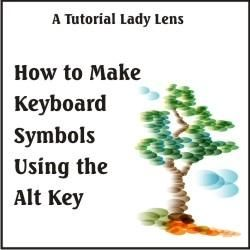 how to use keyboard alt codes