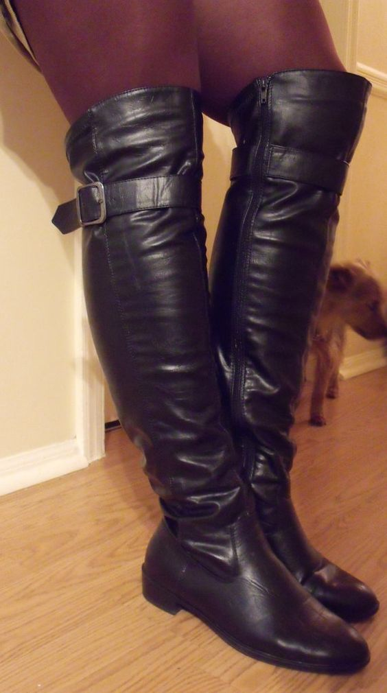 WOW! sexy!! buy these on ESTY!!     THIGH HIGH boots over the knee sexy tall by OutOfMyMamasAttic, $50.00