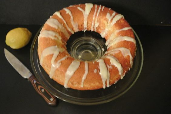 Light Lemon Ring Cake | Nosh My Way