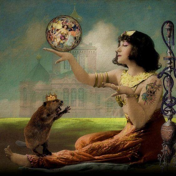 Trippin' With My Beaver.  Elements: Itkupilli Imagenarium and Holliewood Studios @ Mischief Circus.