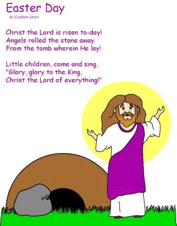 easter poems about jesus for kids | poems come peter come john ...