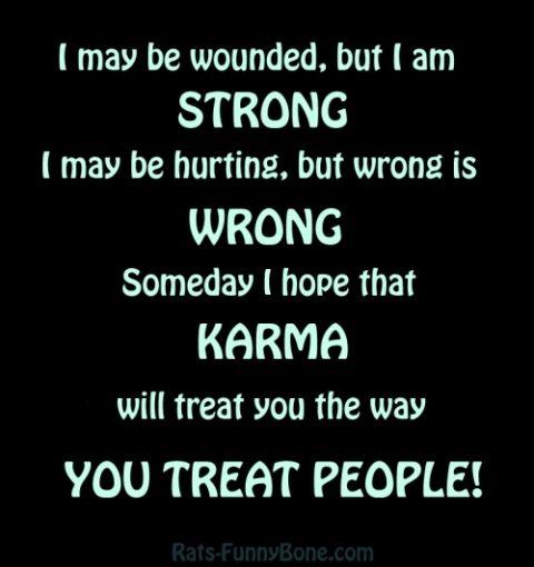 Bad Karma Quotes Classy Bad Karma Quotes Funny  People Treating You Bad Quotes  Karma