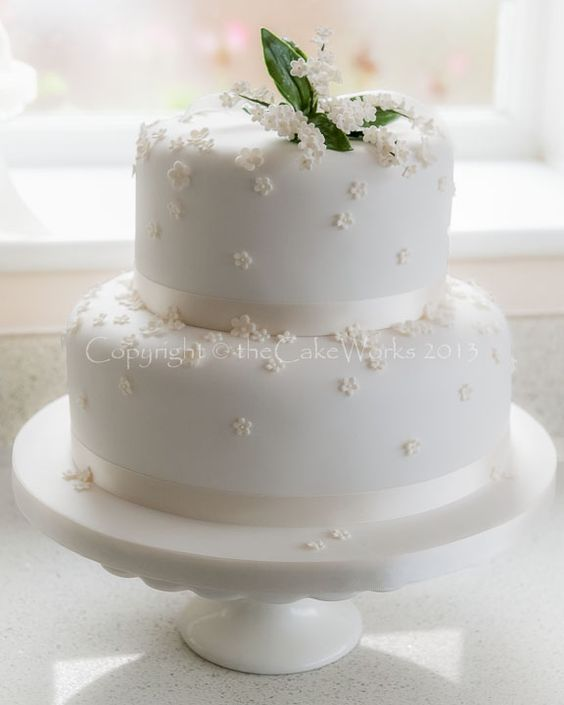 Cake Decorating Equipment Darlington : three tiered simple wedding cakes Wedding Cakes ...