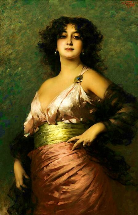 Nathaniel Sichel (1843-1907), An Exotic Beauty