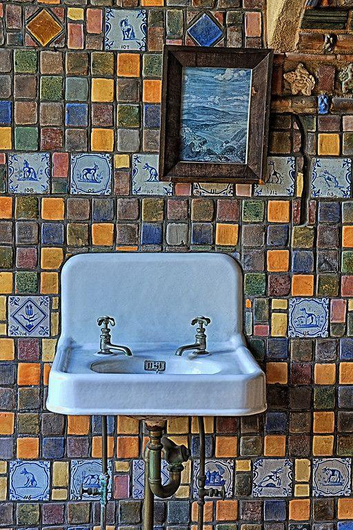 Mercer Tile Works : The o jays porcelain sink and originals on pinterest