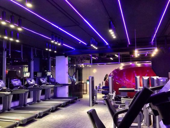 Lighting design at whim gym by stephan bassil