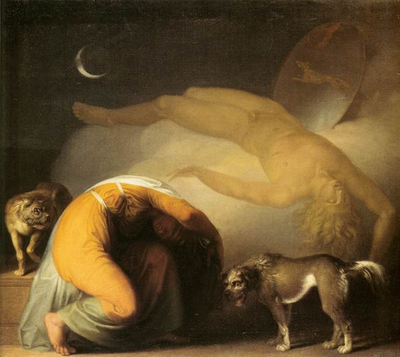 Charles Fonseca: Abilgaard, Nicolai.Danish painter (b. 1743, Københ...