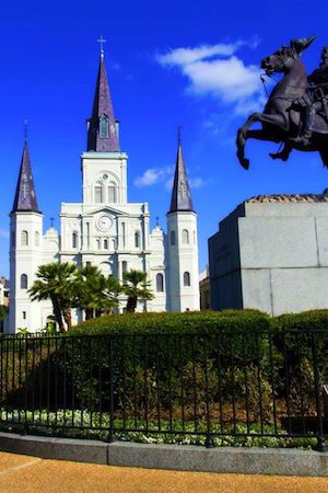 Beautiful days were made for strolls on the square. #FrenchQuarter #JWnola