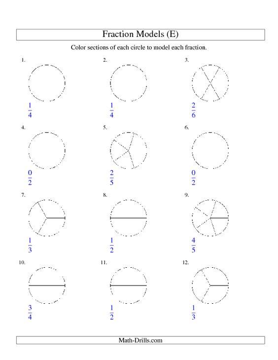 Number Names Worksheets coloring fractions worksheets free – Coloring Fractions Worksheets Free