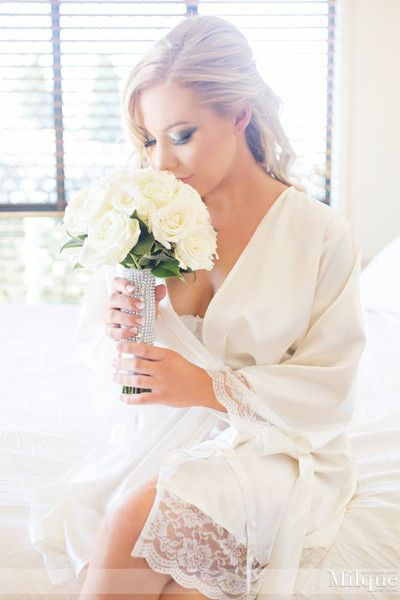 Bridal Robes Homebodii photo by Milque Photography