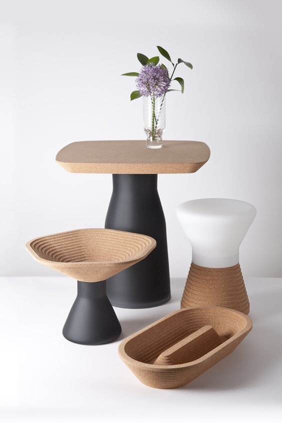 Plug - Tomas Kral #cork #vases #accessories: