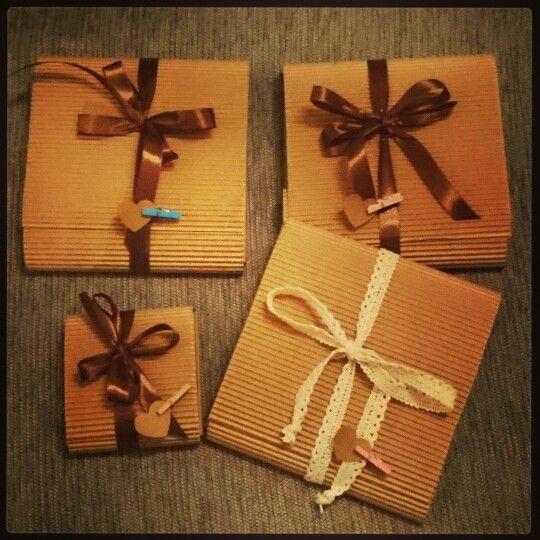 Cajitas de carton para detalles especiales