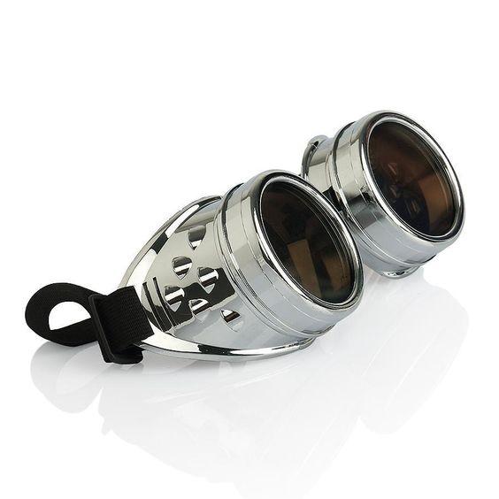Barato Novo 2014 CYBER GOGGLES STEAMPUNK solda GOTH COSPLAY VINTAGE óculos óculos rústica grátis frete, Compro Qualidade Óculos Escuros diretamente de fornecedores da China:              Férias anúncio de 2015 primavera festival                              Prezado cliente: