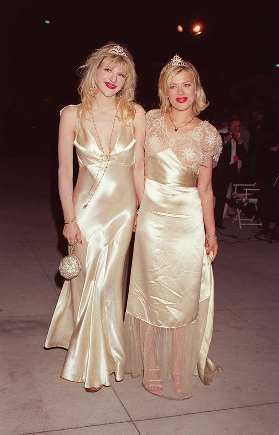 Courtney Love and Amanda DeCadnet | Fashion History ...