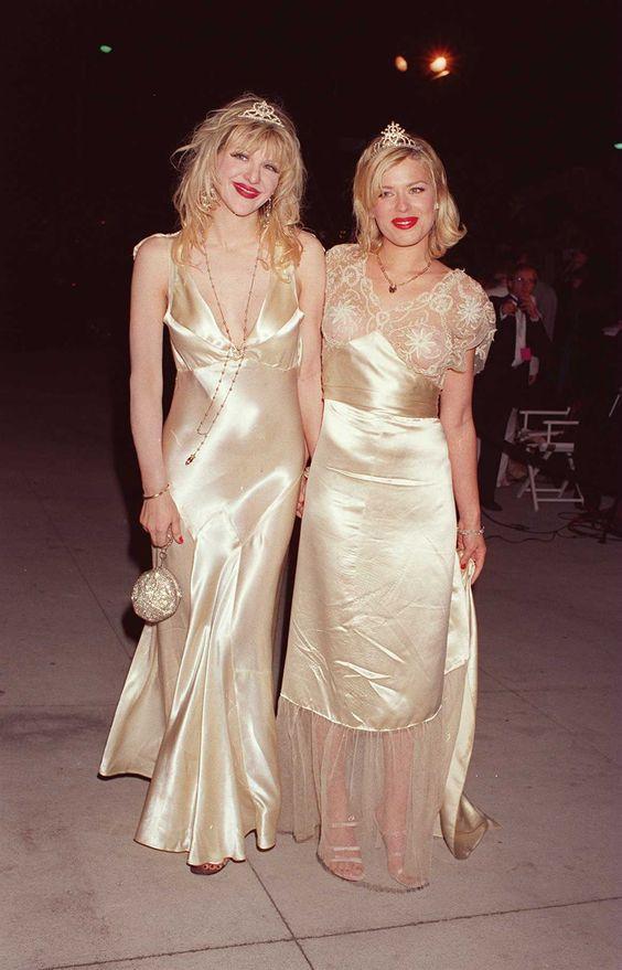Courtney Love and Amanda DeCadnet | Fashion History ...