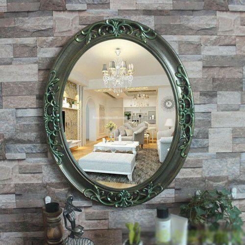 D72 Bathroom Ornament Toilet Vanity Wall Makeup Mirror Front Waterproof Y Fashion Home Garden Homedcor Mi With Images Bathroom Ornaments Toilet Vanity Makeup Mirror