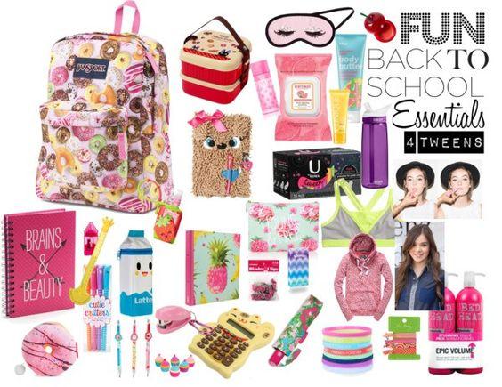 Sweet, Fun Back to School Essentials For Tweens  - Girls Tween Fashion Blog