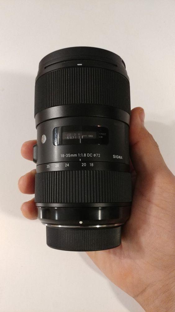 Sigma 210 306 18 35mm F 1 8 Hsm Dc Lens For Nikon Sigma Sigma Lenses Lens Sigma
