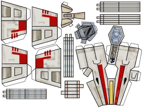 Salut les rogues ! Après le X-Wing en ticket de métro, voici le X-Wing en papertoy ! Il existe de nombreux modèles X-Wing en papier, mais celui-ci a l'avantage d'être assez facile à assembler… D'ou son style un peu 'cartoon',…