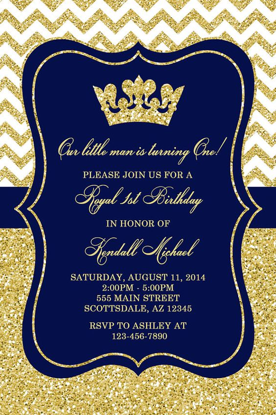 party invitations prince invitations birthday parties royals royal