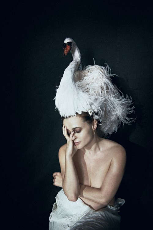 Helena Bonham Carter by Peter Lindbergh for Interview , May 2012