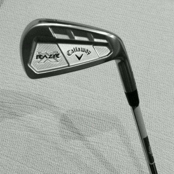 My new gear, callaway razr x forged iron