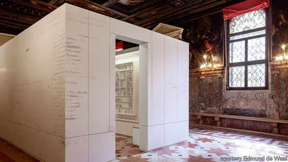 """We shed as we pick up - In Venice, a """"library of exile"""" reflects on displacement and language   Prospero   The Economist"""