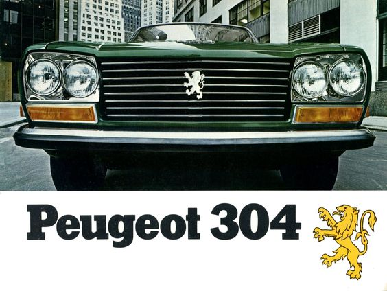 Peugeot 304 US brochure.