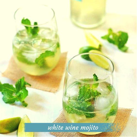 White Wine Mojito – Recipe from Turnip The Oven