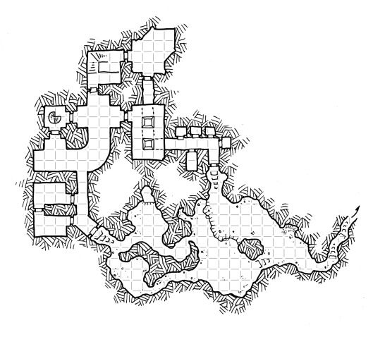 Chainspire Dungeons (with grid)