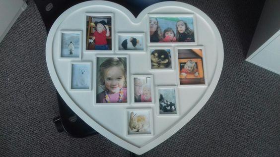 Deze collage is met kinderfoto's van mijzelf