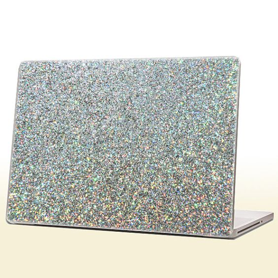 Glam up your laptop with this fabulous laptop skin! You will be sure to grab attention with this eye catching accessory. This skin is made with