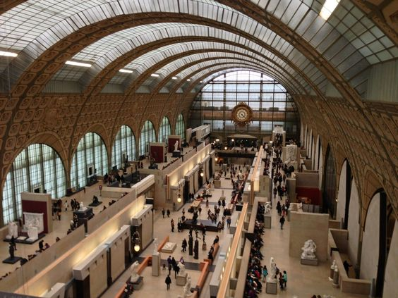 Musée d'Orsay is a museum in Paris on the left bank of Seine. It houses a large collection of impressionist and post-impressionist paintings by artists like Renoir, Monet, Manet, Van Gogh and many more. Image Credit: http://bit.ly/1s2DdyK