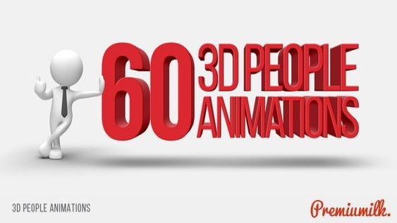 3d People Animations Videohive 14993131 After Effects After Effects Intro Videohive