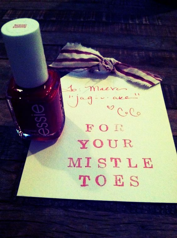 Cheap christmas gift stocking stuffer nail polish for for Cute homemade christmas gifts for family