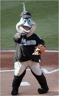 MLB Baseball Mascots: Billy The Marlin - Florida Marlins