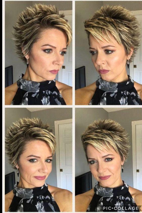 7cff5e8f7b76763b0a1ede81bbb3bc1d Short Spiked Hair Hair Styles Short Choppy Hair