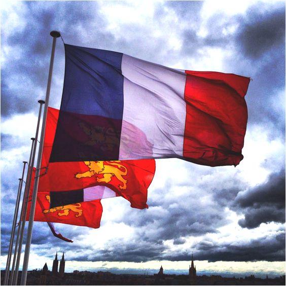 French Flag, Caen, France