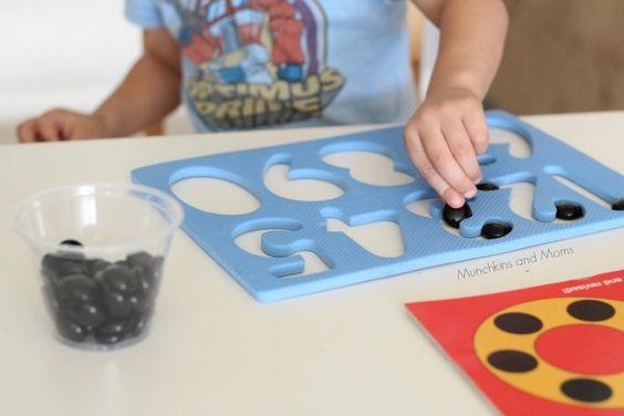 10 Black Dots Math Activity