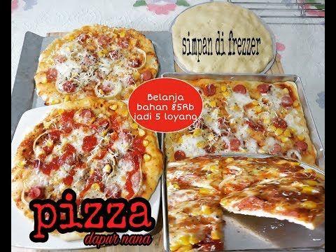 Resep Pizza Enak Empuk Belanja Bahan 85 Rb Jadi 5 Loyang Dough Roti Pizza Bisa Simpan Di Kulkas Youtube Makanan Dan Minuman Resep Roti