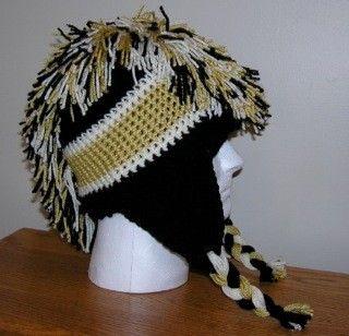 CUSTOM ORDER for Amber  Pittsburgh Penguins Hat. $18.50, via Etsy.
