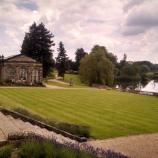 The Orangery at Stoneleigh Abbey. Amy L. Patterson visits Stoneleigh, 208 years after Jane Austen visited. http://amylpatterson.wordpress.com/2014/07/14/england-trip-stoneleigh-abbey-part-1/