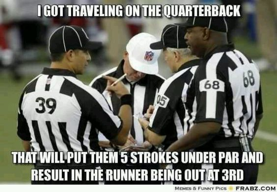 Replacement refs.... smh