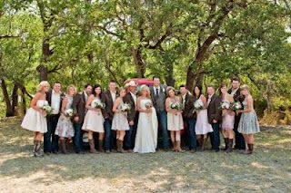 love everything about blake and miranda's wedding.