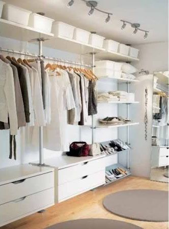 Begehbarer kleiderschrank ikea stolmen  Ikea Stolmen | Life is beautiful | Pinterest